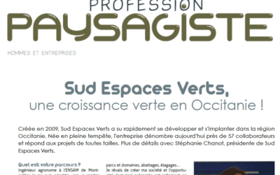 Presse « Profession Paysagiste » – les coulisses de SEV